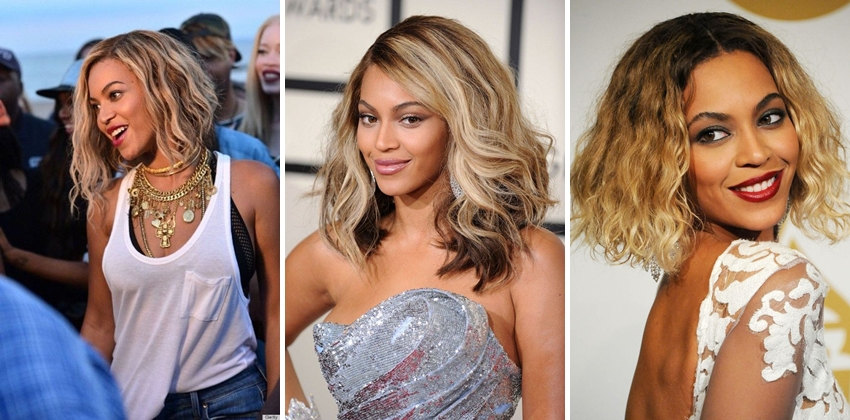 Beyonce Hairstyle Evolution 2