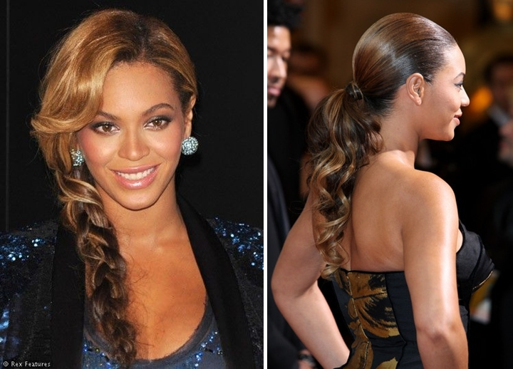 Beyonce Hair Style: Beyonce Hairstyle Evolution In Pictures
