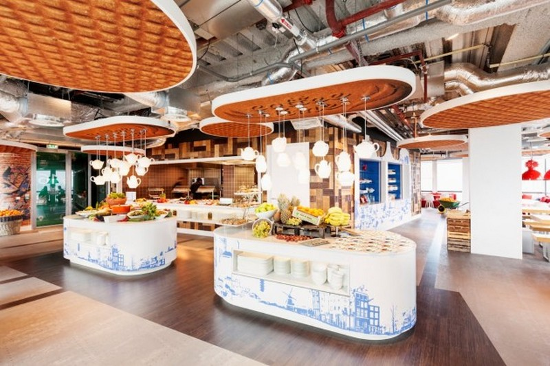 Google's New Offices in Amsterdam
