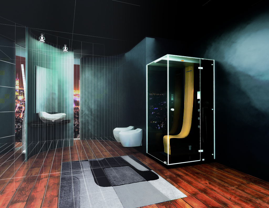 Must-Have Trend for Luxury Bathrooms: Steam Shower