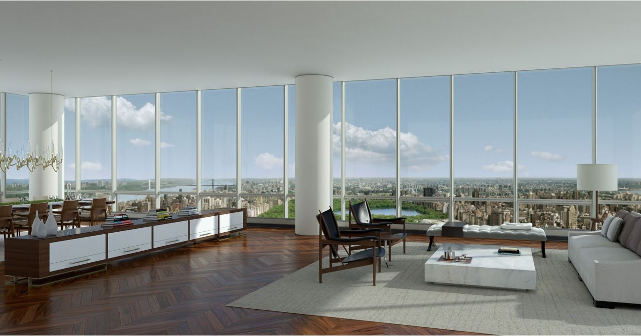 Impressive penthouses around the world ealuxe com for Expensive penthouses in nyc