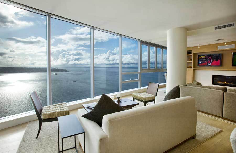 World's Most Amazing Panoramic View | Seattle Penthouse
