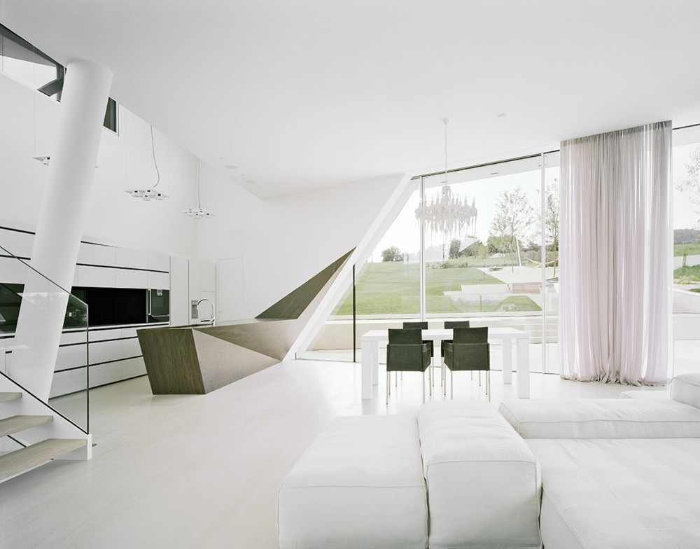 All White Houses Amazing Futuristic All White House