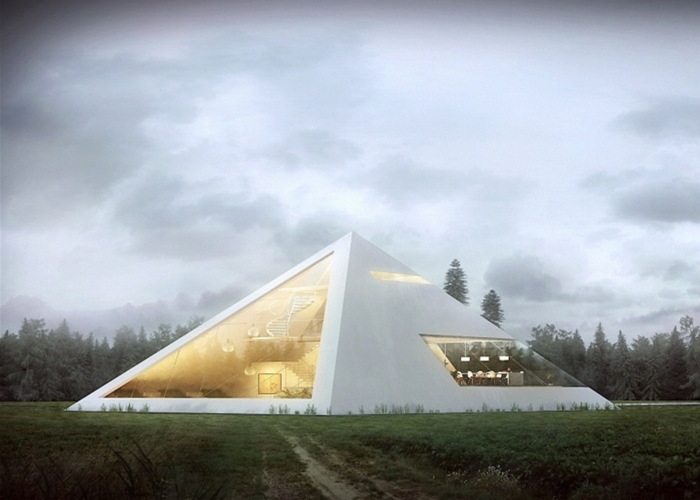 Amazing Pyramid House | Luxury Lifestyle