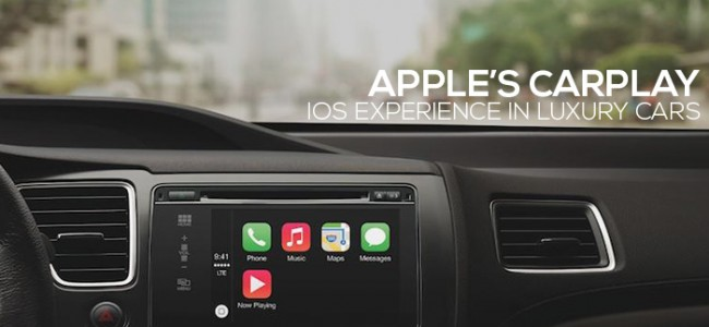 Apple Produces CarPlay for iOS Experience in Luxury Cars