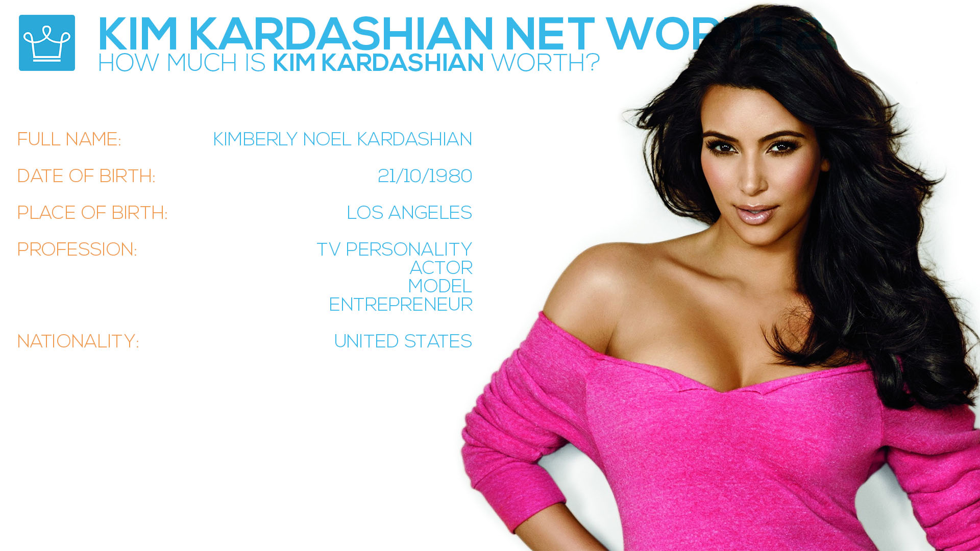 kim kardashian west net worth money fortune how rich wealth house car basic information