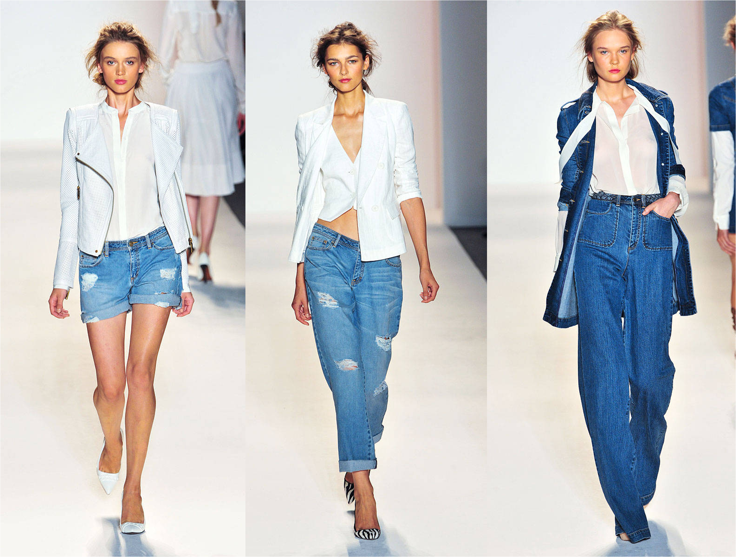 Denim Fashion Spring Trends 2014
