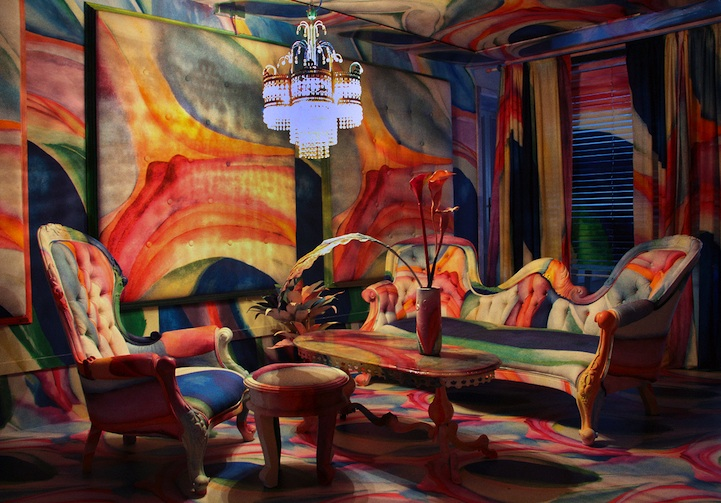 Rooms Wrapped In Famous Paintings