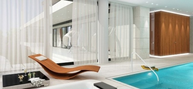 Luxury Home with Interior Pool from Romania