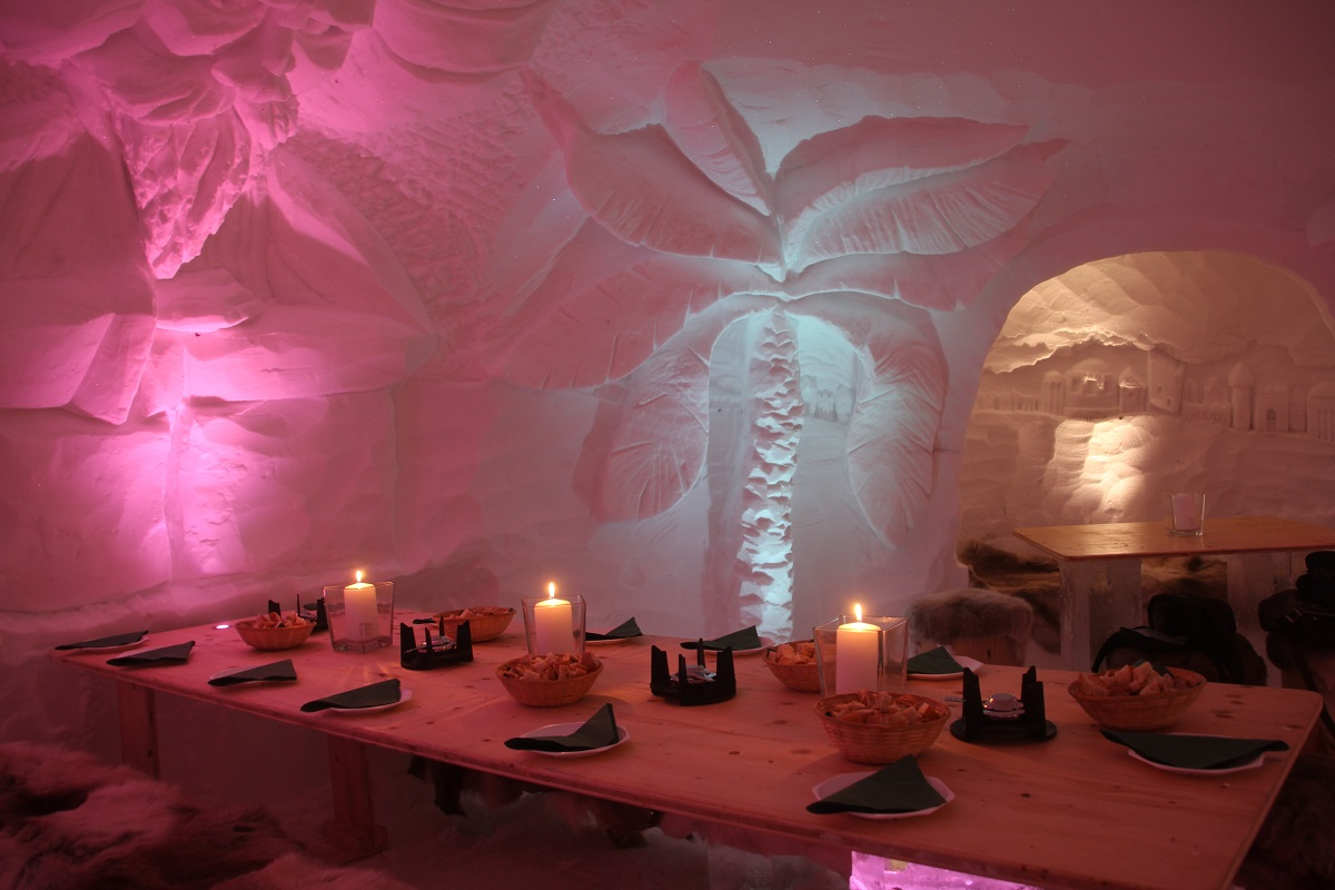 The Highest Igloo Hotel In The Alps