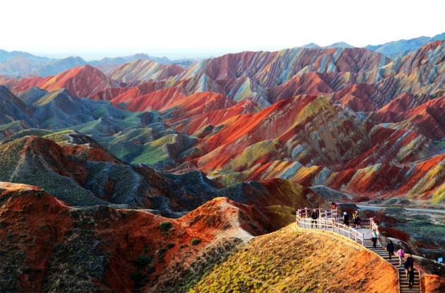 Most Amazing Rainbow Mountains