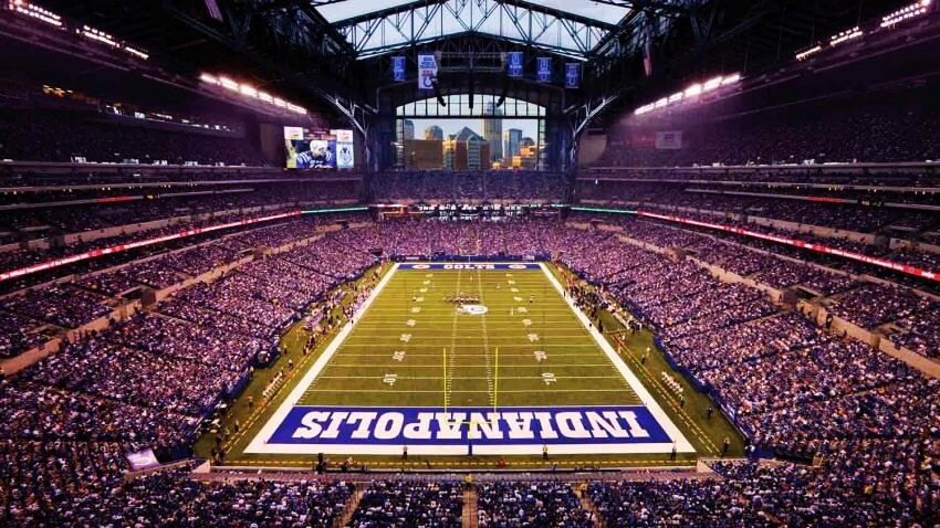 Top 5 Most Expensive NFL Stadiums - EALUXE.COM | Lucas Oil Stadium