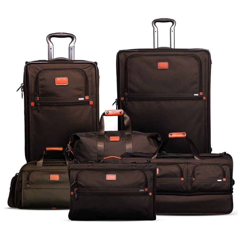 Top 5 Most Expensive Luggage Sets - EALUXE.COM | Tumi Alpha Luggage Set Collection