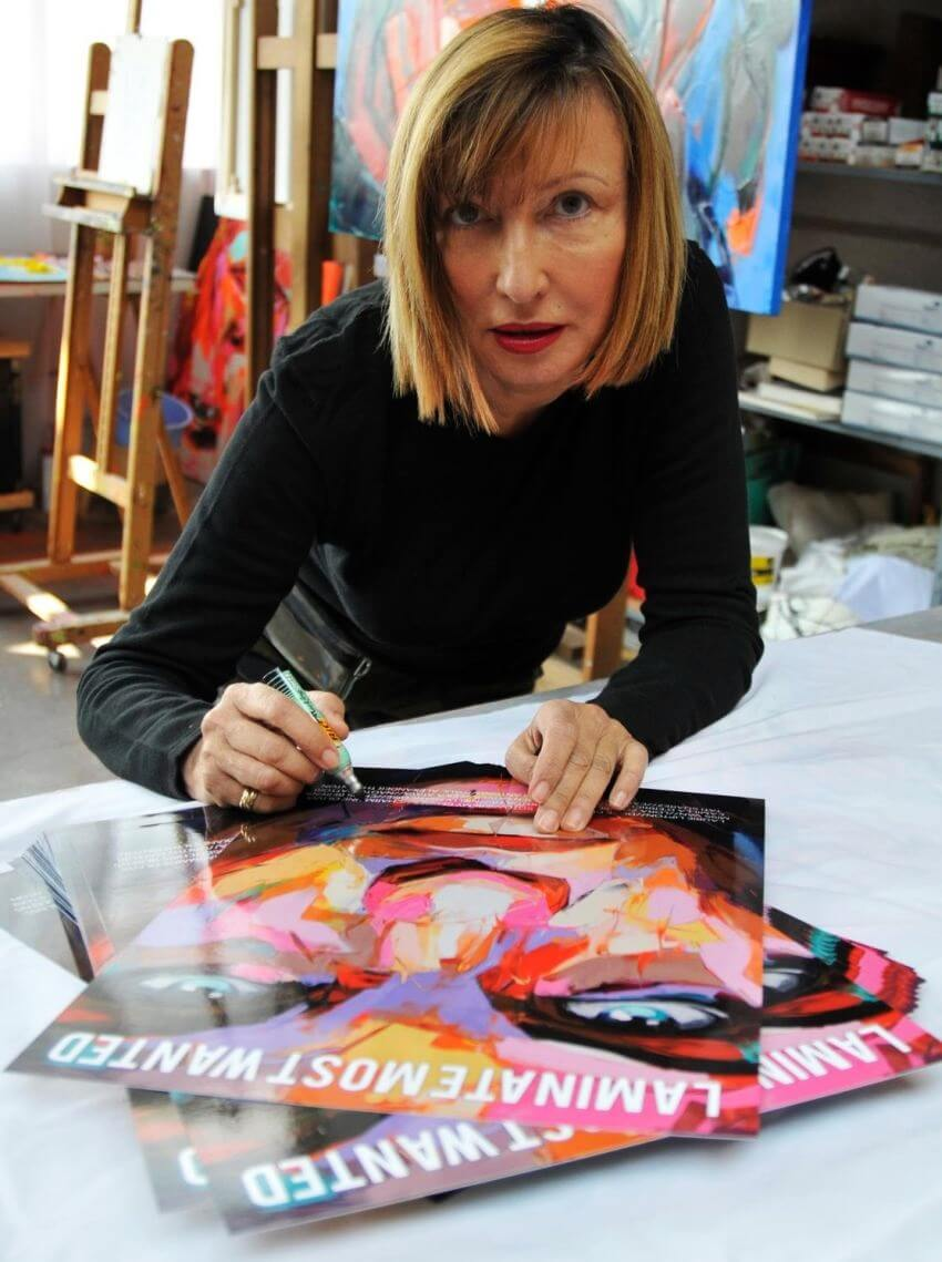 Most Colorful Portraits by Francoise Nielly - EALUXE.COM | Francoise Nielly