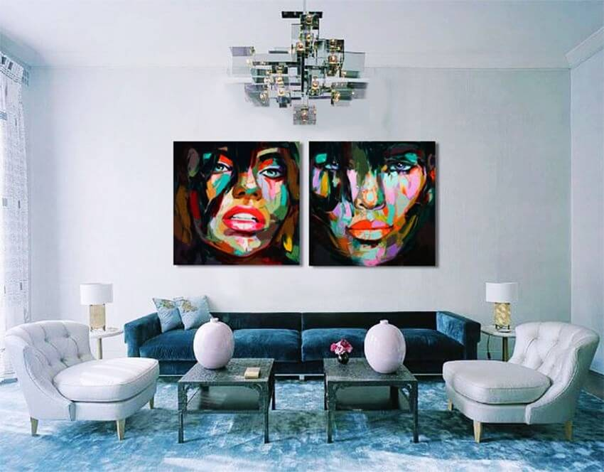 Most Colorful Portraits by Francoise Nielly - EALUXE.COM | Francoise Nielly' Portraits