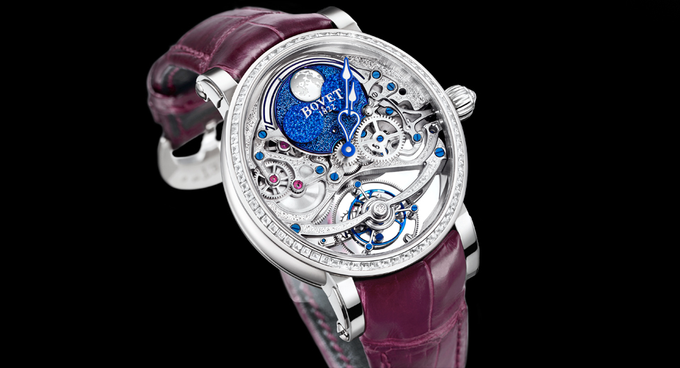 Luxury Watches for Women | Top 5-Bovet Récital 9 Tourbillon Miss Alexandra