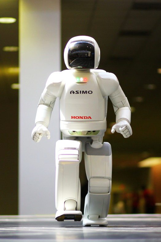 Most Advanced Humanoid Robot: ASIMO