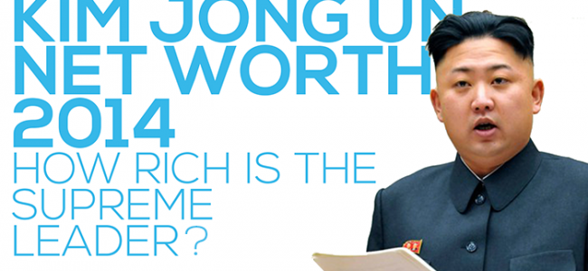 Kim Jong Un Net Worth | Money