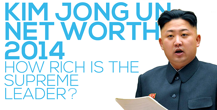 Kim Jong Un Net Worth 2014 How much money is Kim Jong Un worth and how much is he making per year