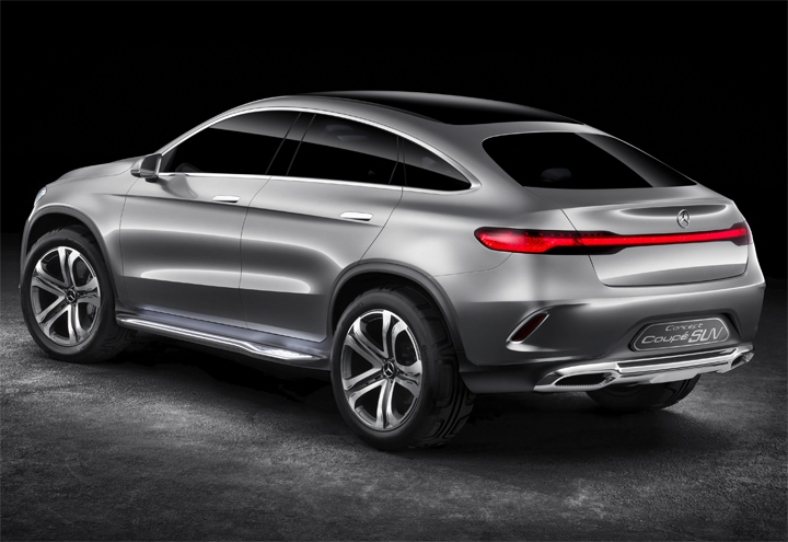 Mercedes-Benz-Concept-Coupé Mercedes Benz Crossover-Coupe Spotted in Test Phase