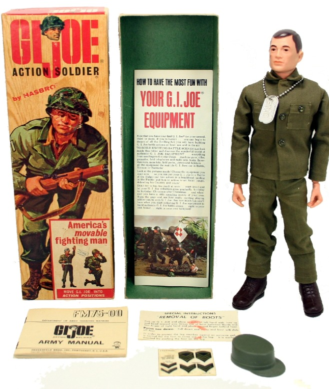 Most Expensive Action Figure in the World Original Prototype 1964 5