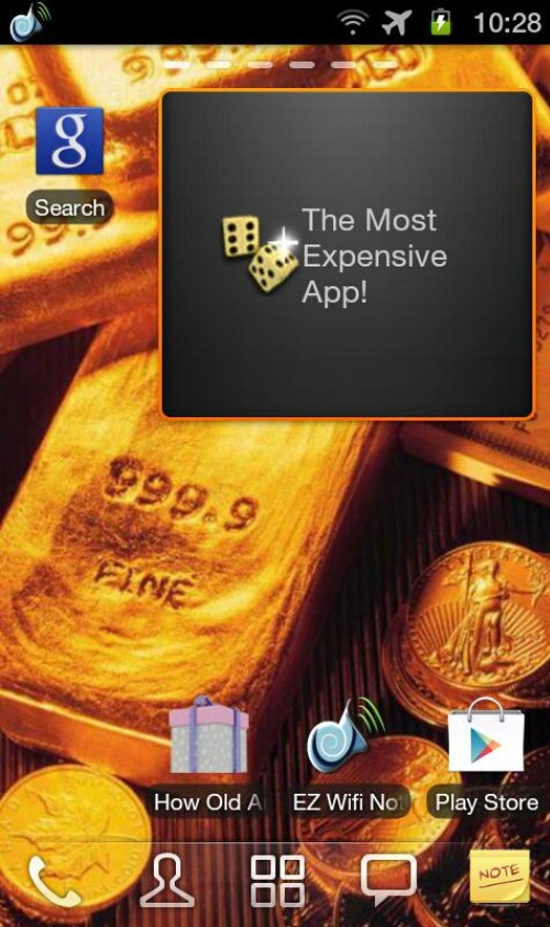 Most Expensive Android App in the World