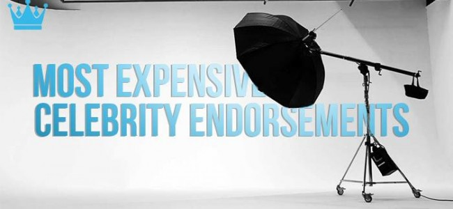Most Expensive Celebrity Endorsements | Top 10