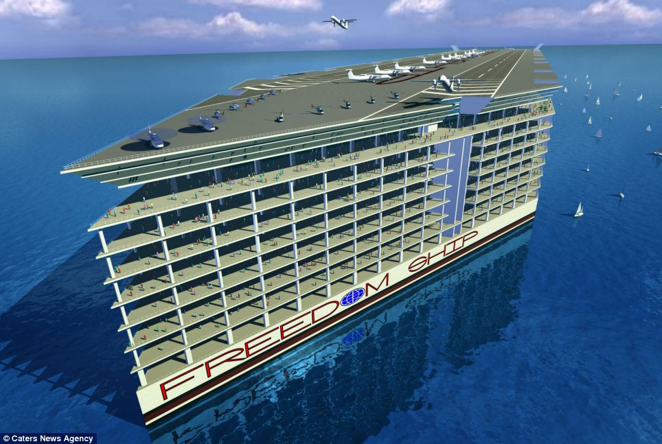 Most Expensive Concept Cruise Ship - Alux.com