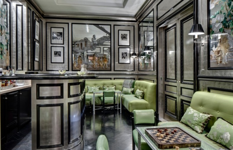 Most Expensive Home in Dallas Bar Room