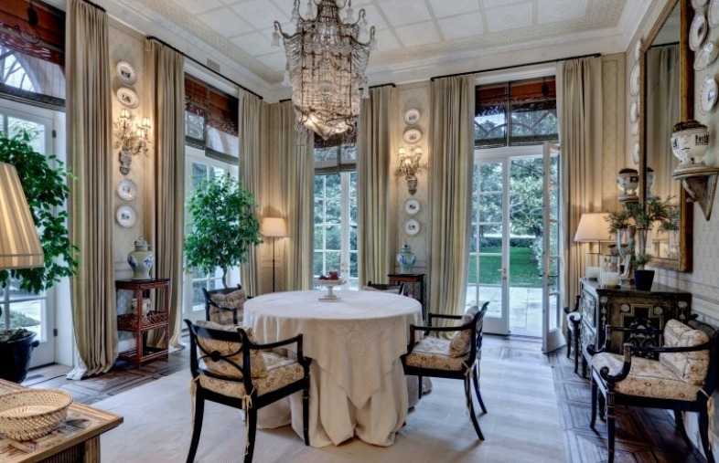 Most Expensive Home in Dallas Dinning Room