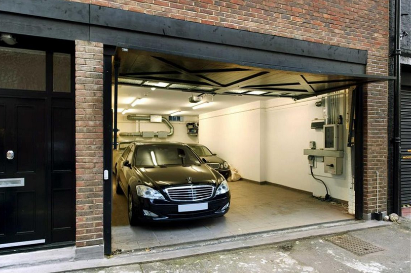 Most Expensive House In The UK - Garage