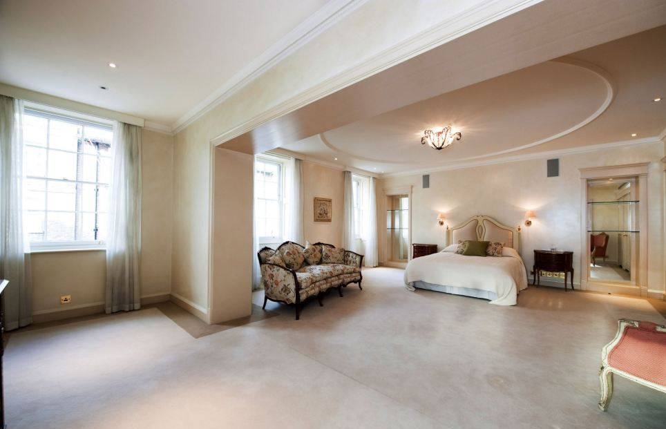 Most Expensive House In The UK - One of the bedrooms