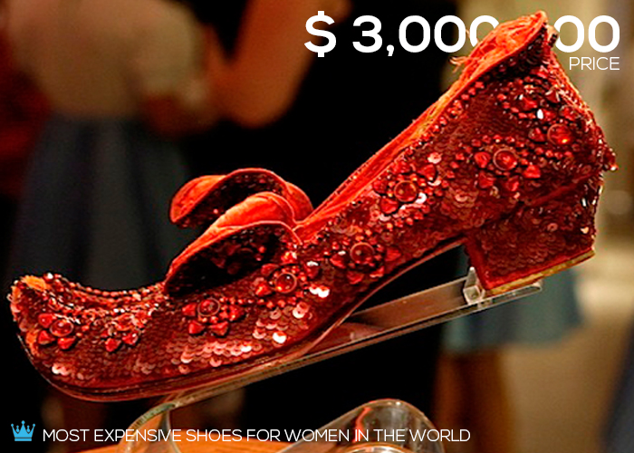 Most Expensive Shoes For Women In The World