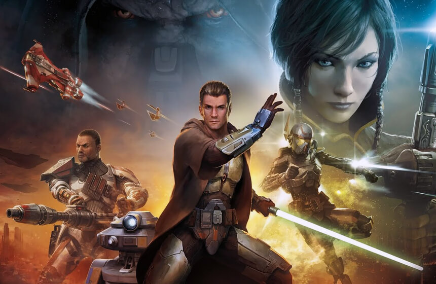 Most Expensive Video Games Ever Created #4. Star Wars The Old Republic - $200 million