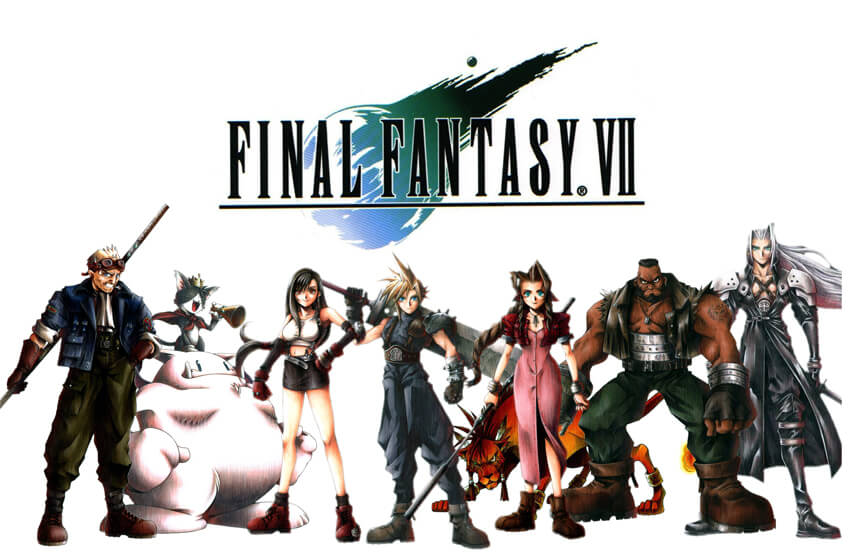 Most Expensive Video Games Ever Created #5. Final Fantasy VII - $145 million