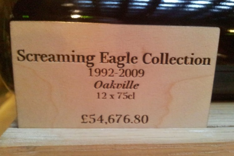 Most Expensive Bottle of Wine in the World.Screaming.Eagle.Cabernet.1992