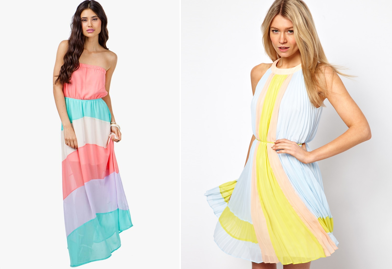 Dresses in coast