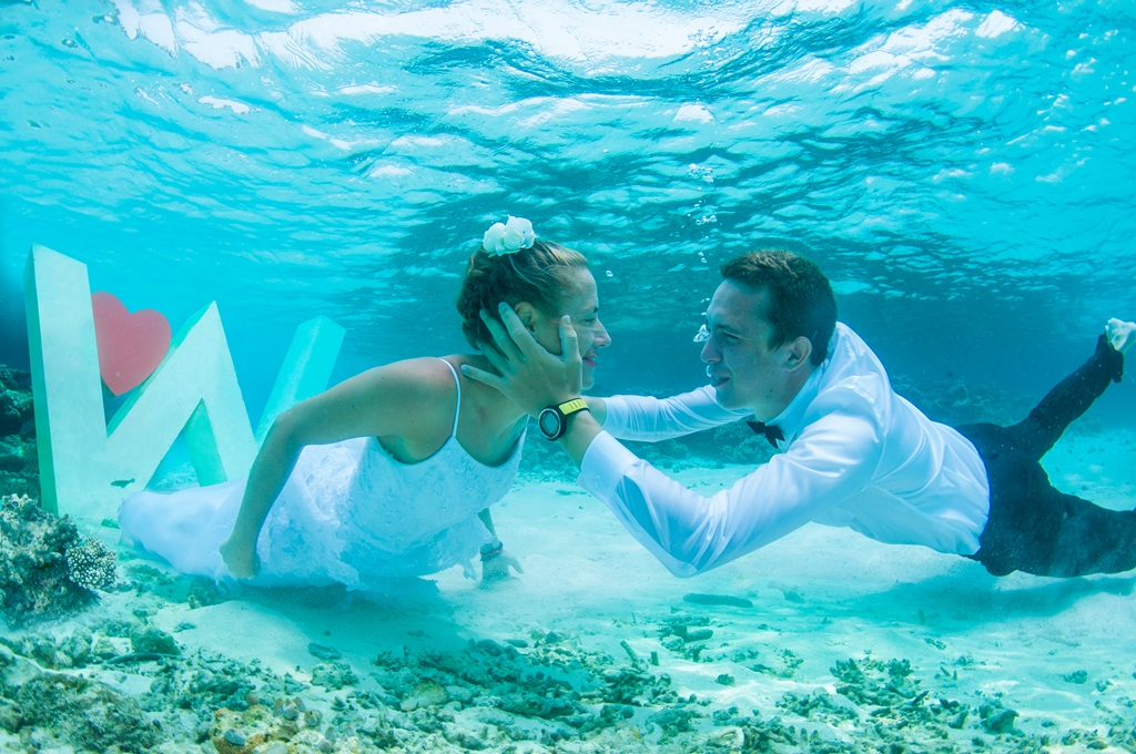 W Resort & Spa – Maldives - Underwater Wedding