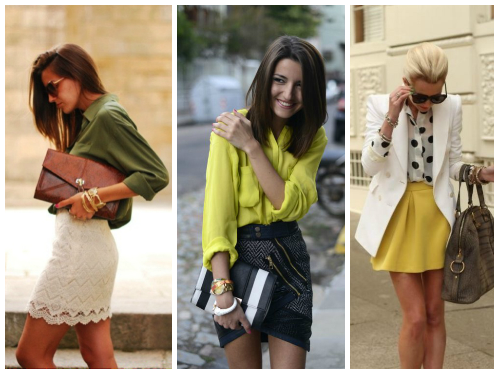 What to wear on a first date without knowing where you're going Statement skirt and blouse