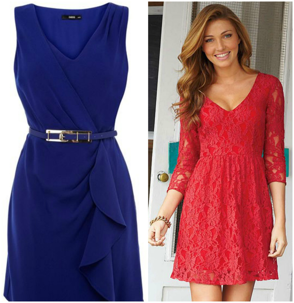 What to wear on a first date without knowing where you're going |V-neck dress