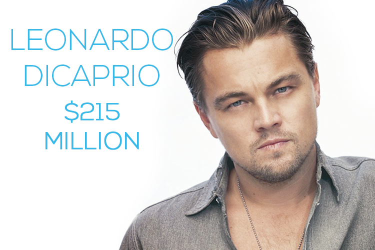 Richest male actors in the world 2014 leonardo dicaprio