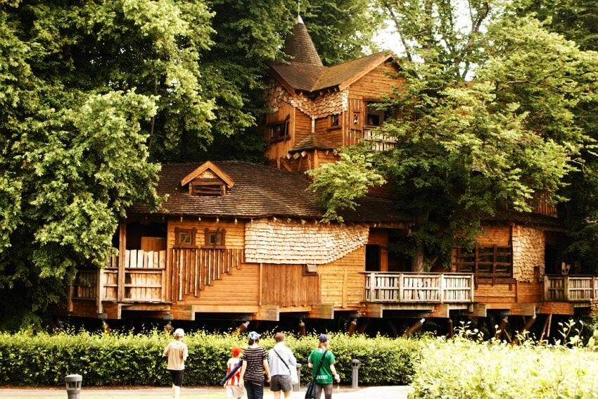 top 10 most expensive tree houses in the world ealuxe alnwick garden - Most Expensive Tree House In The World