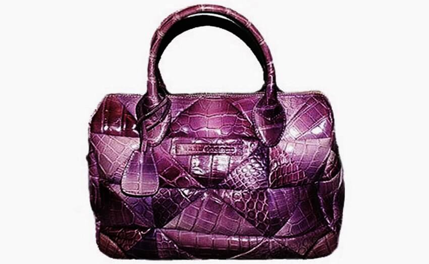 Top 10 Most Expensive Purses in the World - EALUXE.COM | Marc Jacob Carolyn Crocodile Bag