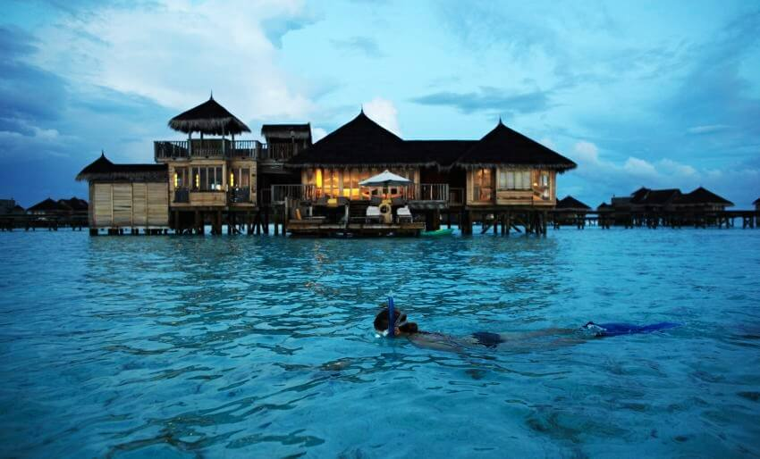 Top 10 Most Expensive Floating Hotels in the World | Soneva Gili by Six Senses