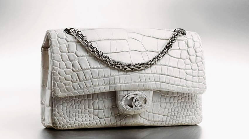 Top 10 Most Expensive Purses In The World Ealuxe Com Chanel Classic Diamond