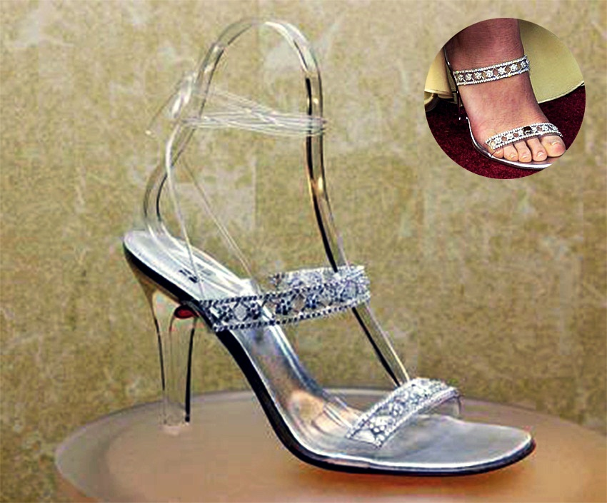 Top 5 Most Expensive High Heels in the World - EALUXE | Be Cinderella for a night with these expensive slippers.