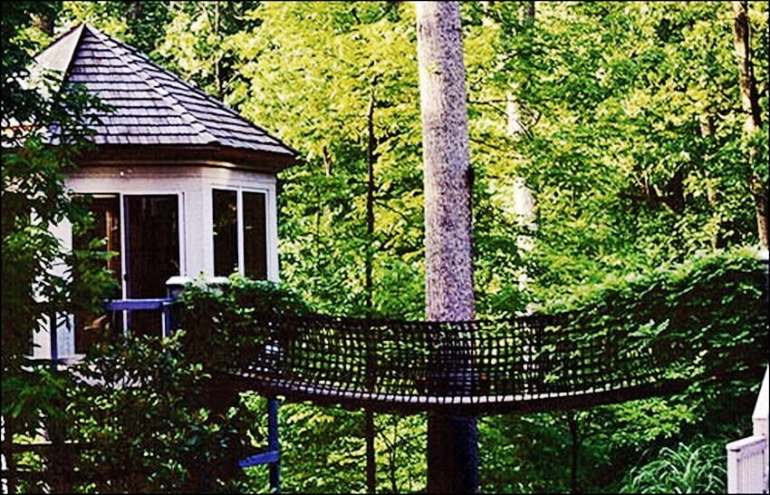 top 10 most expensive tree houses in the world ealuxe tree house and cable - Most Expensive Tree House In The World