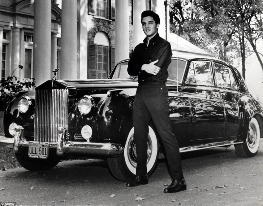 Top 10 Most Expensive Rock and Roll Memorabilia | Although the Rolls-Royce was used by other people, it remains the car of the legendary Presley.