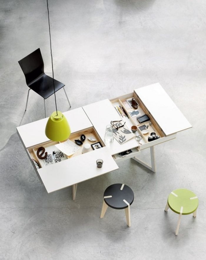 15 Cool Ideas On How To Turn Your Home Into A Desk