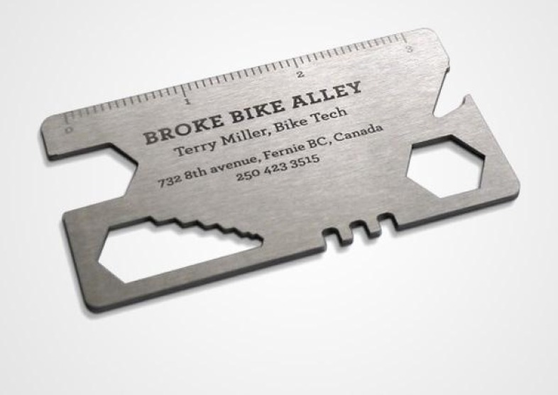 Crazy designs for the business cards alux crazy designs for the business cards the bike multi tool business card colourmoves